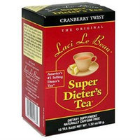 trol incl Laci Le Beau Teas Laci Le Beau Super Dieter's Tea Cranberry Twist - 15 Tea Bags