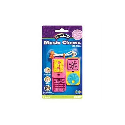Super Pet Modern Music Chews Small Animal Toy