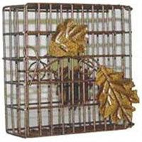 Heath Manufacturing Heath HEATH2304 Decorative Leaf Suet Basket