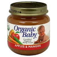 Organic Baby Organic Baby Food, Apples & Mangos, 4-Ounce Jars (Pack of 24)