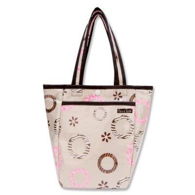Trend Lab Mini Diaper Tote Bag, Sweet Safari (Discontinued by Manufacturer)