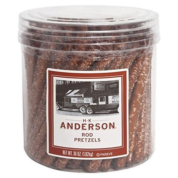 Anderson Bakery Pretzel Rod Canister, 36-oz.