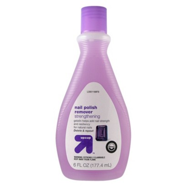 Up & up Strengthening Nail Polish Remover