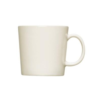 Iittala Dinnerware, Medium Teema White Mug