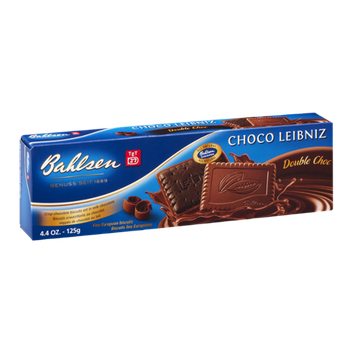 Bahlsen Choco Leibniz Double Choc Fine European Biscuits