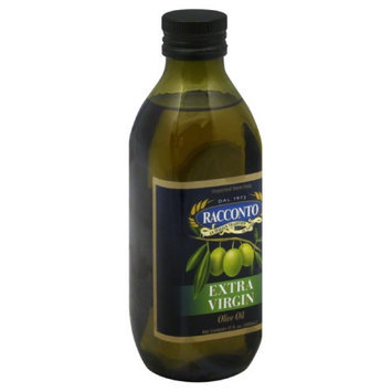 Racconto 17 oz. Extra Virgin Olive Oil - Round Bottle Case Of 12
