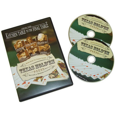 Trademark Commerce Trademark Poker Kitchen Table to Final Table 2 DVD PACK