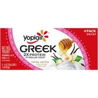 Yoplait® Greek 2x Protein Honey Vanilla Fat Free Yogurt