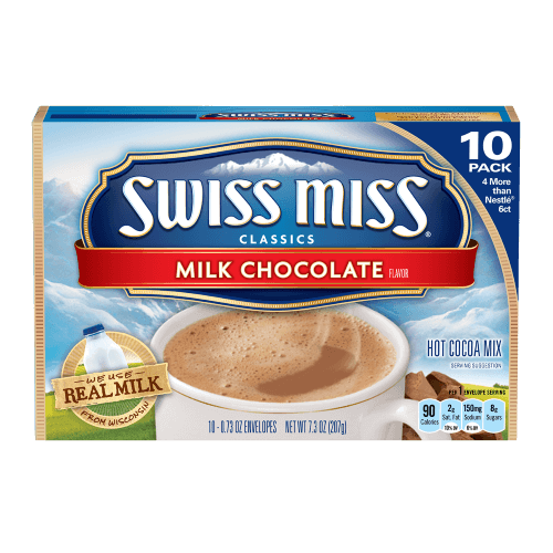 Swiss Miss Milk Chocolate Hot Cocoa Mix