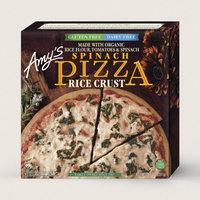 Amy's Kitchen Spinach Pizza, Gluten Free, Dairy Free