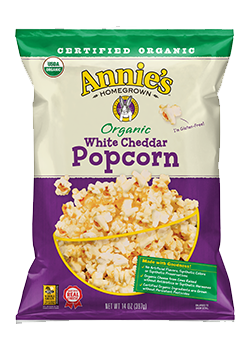 Annie's®  Organic White Cheddar Popcorn