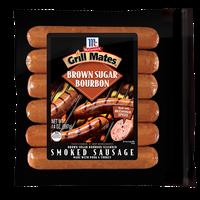 McCormick® Grill Mates® Brown Sugar Bourbon Smoked Sausage