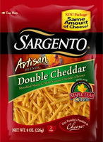 Sargento® Artisan Blends® Double Cheddar Shredded Cheese