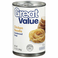 Great Value : Chicken Noodle Condensed Soup