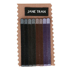 Jane Tran Hair Accessories Metallic Bobby Pin Set