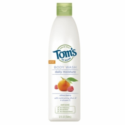 Tom's of Maine Daily Moisture Body Wash, Citrus Berry, 12 fl oz