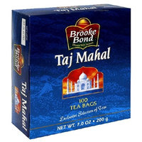 Brooke Bond Taj Mahal Orange Pekoe 100 Tea Bags 7 Oz
