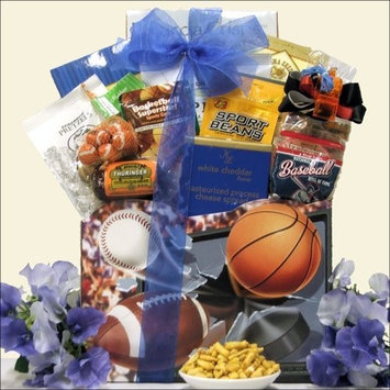 Greatarrivals Gift Baskets Armchair Athlete: Father's Day Sports & Snack Gift Basket