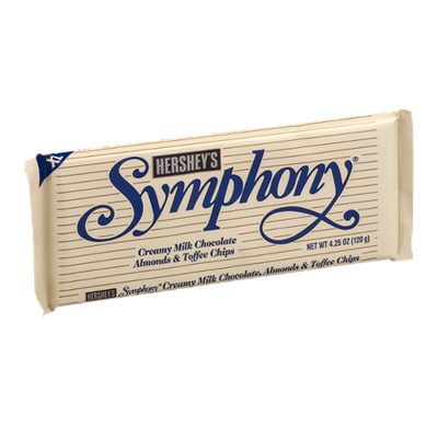Symphony Creamy Milk Chocolate with Almonds & Toffee Chips