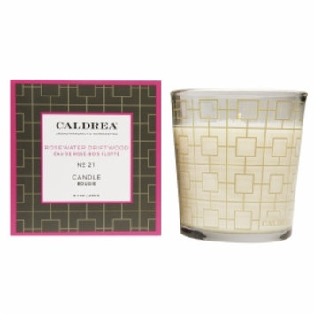 Caldrea Fragranced Candle, No 21 Rosewater Driftwood, 8.1 oz