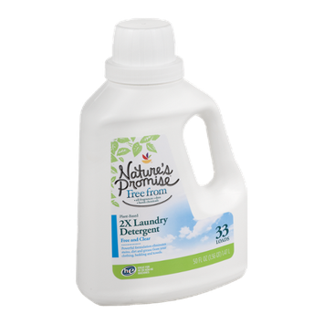 Nature's Promise 2X Laundry Detergent Free and Clear