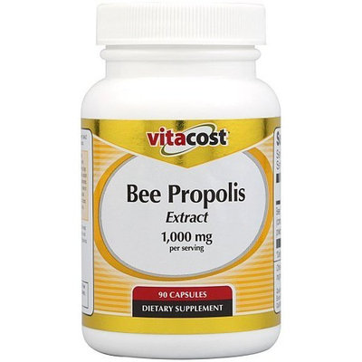 Vitacost Brand Vitacost Bee Propolis Extract -- 1000 mg - 90 Capsules