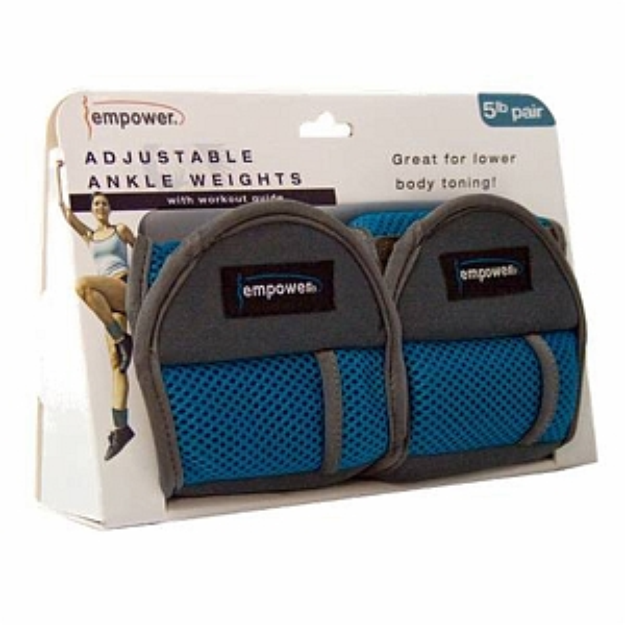 empower Adjustable Ankle Weights