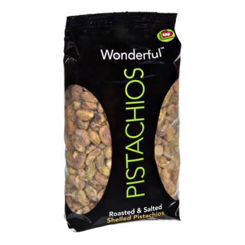 Wonderful Roasted & Salted Shelled Pistachios
