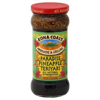 KONA COAST , Sauce Teriyaki Pardse Pna, 15 OZ (Pack of 6)