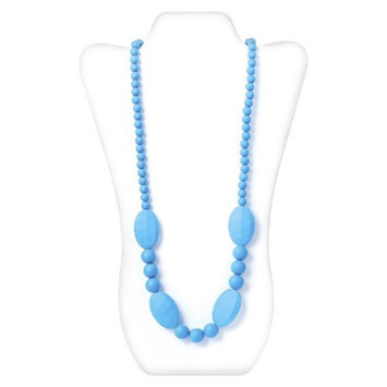 Nixi by Bumkins Ellisse Silicone Teething Necklace - Blue