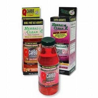 QCarbo Liquid Orange 16 oz, Herbal Clean Detox