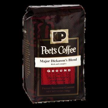 Peet's Coffee Major Dickason's Blend Ground Fresh Roasted Coffee
