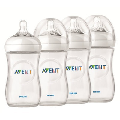 Avent Natural 9 oz Bottle, Polypropylene