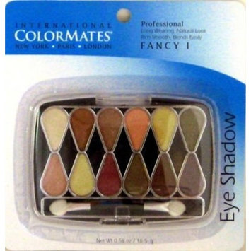 Color Mates 12 Pan Eye Shadow (Neutral) (6-Pack)