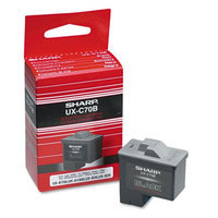 Sharp UXC70B Inkjet Cartridge, Black - Kmart.com
