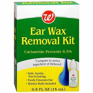 Walgreens Ear Wax Removal Kit