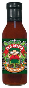 Hot Sauce Harry's Hot Sauce Harrys HSH8084 HSH OLD DUFFER PEACH Grilling Sauce-Marinade - 12oz