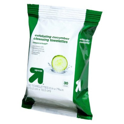 Up & Up Exfoliating Cleansing Towelettes 30-pk. Refill