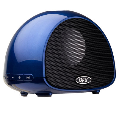 Quantumfx QFX BT-100 Bluetooth Wireless Portable Speaker with built-in Microphone