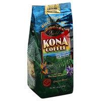 Hawaiian Gold Kona Ground Coffee Vanilla Macadamia Nut - 10 oz