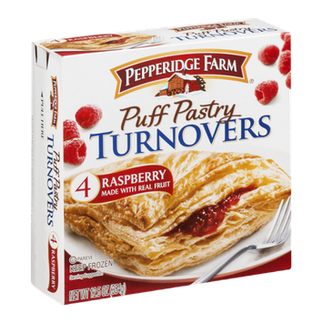 Pepperidge Farm Puff Pastry Turnovers Raspberry - 4 CT