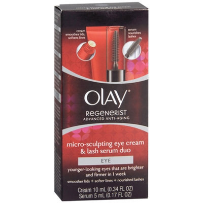 Olay Regenerist Micro Sculpting Eye Cream and Lash Serum Duo Kit
