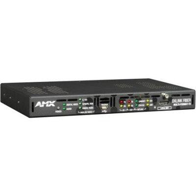 AMX DXLF-MFTX-MM-D DXLink™ Multi-Format Multimode Fiber Transmitter, Duplex - 1 Input Device - 984.25 ft Range - 1 x Network (RJ-45) - 1 x USB - 1 x HDMI In - 1 x VGA In - Serial Port - WUXGA - 1920 x 1200
