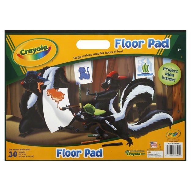 Crayola Giant Floor Pad 22 x 16