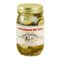 Byler's Relish House Homemade Amish Country Old-Fashioned Dill Pickles 16 oz.