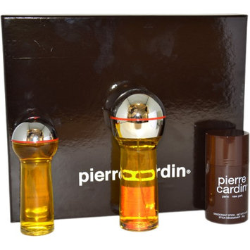 Pierre Cardin by Pierre Cardin for Men - 3 Pc Gift Set 2.8oz cologne Spray, 1.0oz After Shave Lotion, 2.5oz Deodorant Stick
