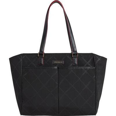 Vera Bradley Preppy Poly Uptown Baby Bag in Black