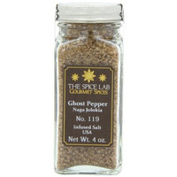 Gourmet Salt Company The Spice Lab Ghost Pepper Salt Naga Jolokia- Really Hot, 4 oz.