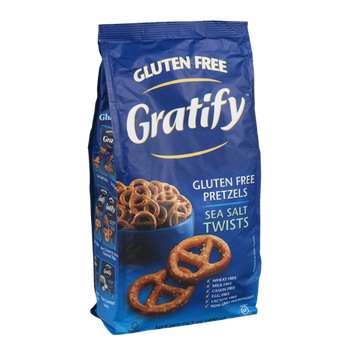 Gratify Gluten Free Pretzels Sea Salt Twists