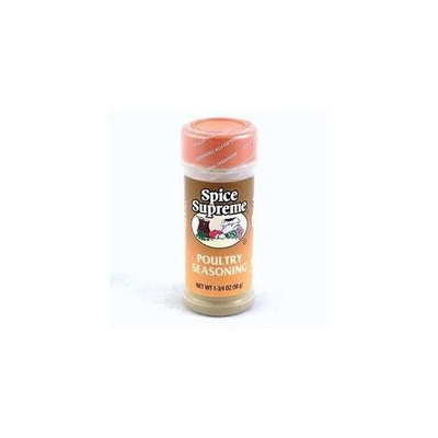 Poultry Seasoning - 1.75 oz,(Spice Supreme)